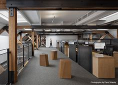 Natural and Rustic Interior of a Creative Agency