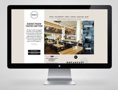 SPIRIT on Behance #website