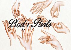 #bodyparts #hand #typography #sketch #ink #pencil #fingers