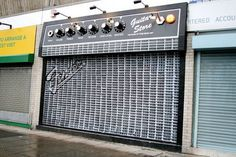 Creative Guitar Store #design #graphic
