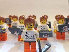 Lego Figures #business #design #graphic #cards #3d