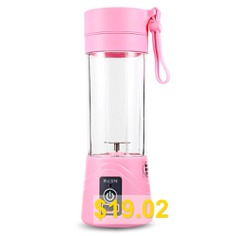 Portable #Multipurpose #Small #Juice #Extractor #- #PINK