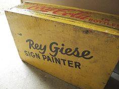 FFFFOUND!   Rey Giese's studio on Flickr - Photo Sharing! #wood #box #typography