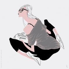Bolsa - Lucas Romano #fashion #illustration