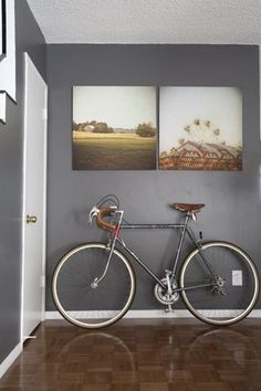 FFFFOUND! | Mallory & Liz's Santa Monica Prop House House Tour | Apartment Therapy Los Angeles #inspiration #design #culture #bike #cool