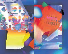 A colorful zine Laura Knoops   Designer & VJ #illustration #color #colour #vj
