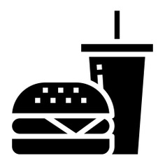 See more icon inspiration related to burger, food, sandwich, menu, salad, food and restaurant, french fries, junk food, beef, hamburger, fast food and cheese on Flaticon.