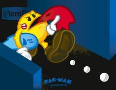 Oneoff Nation #illustration #pacman #oneoff