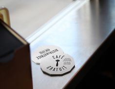 Smallest cafe place in North America, visual identity #identity