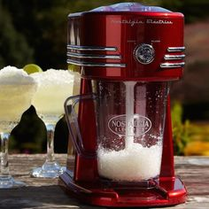 Retro Frozen Beverage Maker #tech #flow #gadget #gift #ideas #cool