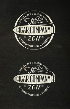The Humidor Co. several Cigar companies on Behance by Alexramonmas Studio