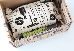 Packaging for craft candle brand Rewined including custom boxes and cloth bags designed by Stitch