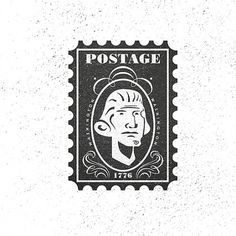 All sizes | postage stamp | Flickr - Photo Sharing! #illustrator #illustration #vintage #art #artist #christopher #paul