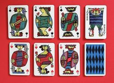 Javier Garcia » Stig Lindberg Playing Cards #cards