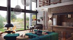 industrial lofts inspiration belarus 1 #design #interiors #home