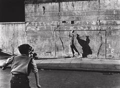 Roger Mayne, Footballer and shadow #photography