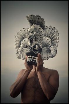 Photographer documents world's most dramatic ritual masks #mask #photo #ArtDirection