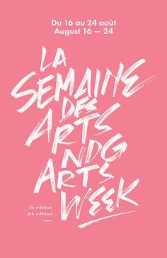Arts Week #week #arts #poster