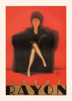 VINTAGE ITALIAN POSTER Art Deco Poster Antique Advertising