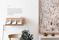 Mjölk by Tung #typography #interior #design