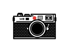 Dribbble - Leica by Ryan Harrison #icon #logo #illustration #camera