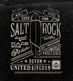 Vintage graphics No.2 on Behance #neil #rock #bleach #salt