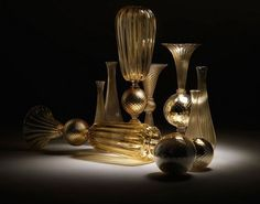 Roberto Cavalli  collection Home 2012 and Murano glass art