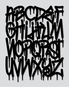 Numero Uno typeface on Typography Served #graffiti #text #typography