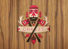 Target Chalet : Winter X Games 15 - Aaron Melander Design #logo #badge #symbol