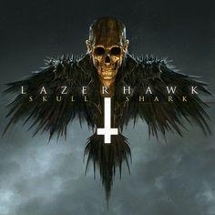 Skull and Shark cover art #dave #rapoza #shark #lazerhawk #and #skull