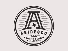 Dribbble - Abidesco by Ryan Feerer #ryan #a #icon #letter #feerer