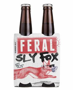 Feral Sly Fox Packaging #campaign #beer