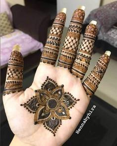 Rangoli Mehndi Design with Floral Motifs