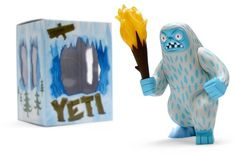Vinyl Pulse: Big Yeti #vinyl #toy #yeti