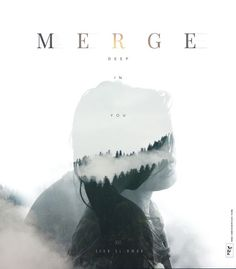 #Nature #Double Exposure #Poster #Design #Editorial
