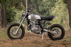 'Mamba' Suzuki DR650 – Pasquale Motors #moto
