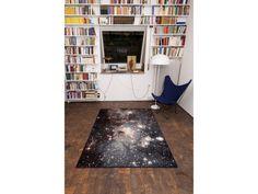 HEIC0607A | SCHÖNSTAUB galaxy rug #interior #chair #books #stars #carpet #galaxy #rug #room