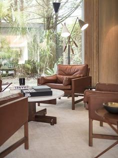 Isay Weinfeld, interior design, living room