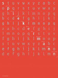 Fontblog | Ausstellung im Berliner Bauhaus-Archiv ab 23. März: »erik spiekermann. schriftgestalten« #design #graphic #typeface #poster #erik #spiekermann #german #typography