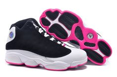 Nike Air Jordan 13 Retro Womens Shoes Black White New