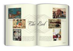 KABOOM / Visual Arts Magazine - Editorial Design