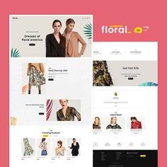 #Floral #Fashion #Boutique - #Opencart Multi-Purpose #Responsive #Theme   #TemplateTrip #eCommerce #Website #Template