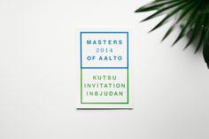 Masters of Aalto 2014 — Werklig #sgdf