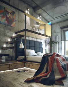 Brief / Relief #loft #bedroom