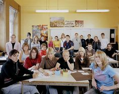 Classroom Portraits by Julian Germain