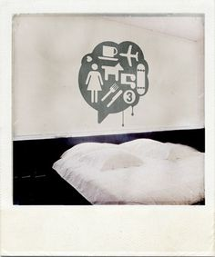 Graphic-ExchanGE - a selection of graphic projects #wall #bed #art #dreams