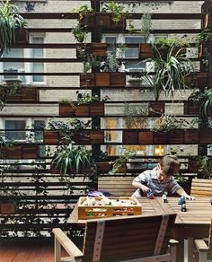 zizmor-house-exterior-plant-wall-portrait-1.jpg (JPEG Image, 645 × 800 pixels) #courtyards #plants #storage #architecture #landscapes #green