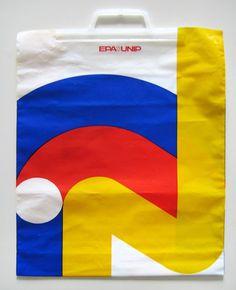Vintage Swiss Plastic Bag