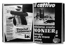 AAA #swiss #white #gun #design #publication #black #magazine #typography