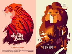 Reinvented Disney posters by Mondo